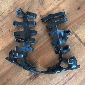 Free people gladiator sandal